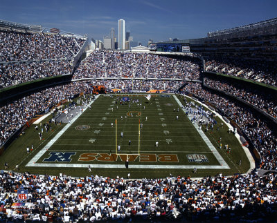 Chicago  Bears soldier field view