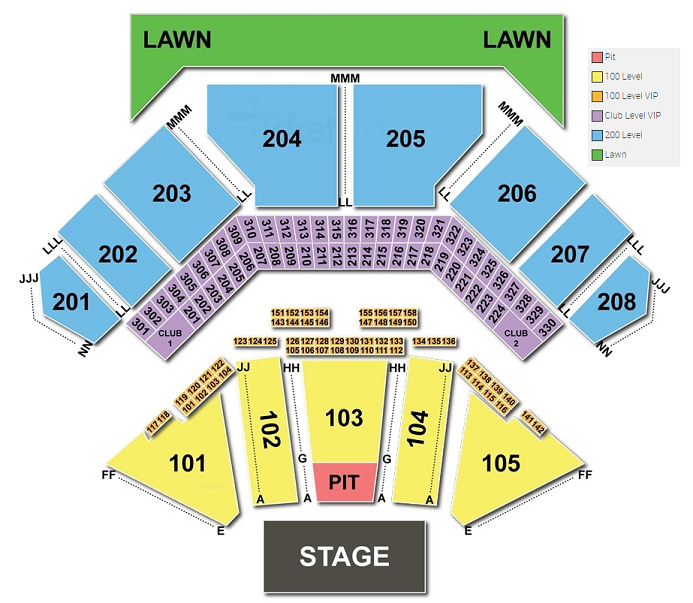 Hollywood Casino Amphitheater Vip Box Hours 2019